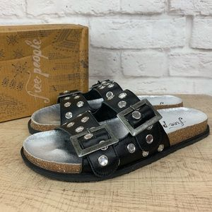 🆕 Free People Bali Buck Slide Birk Stud Sandals